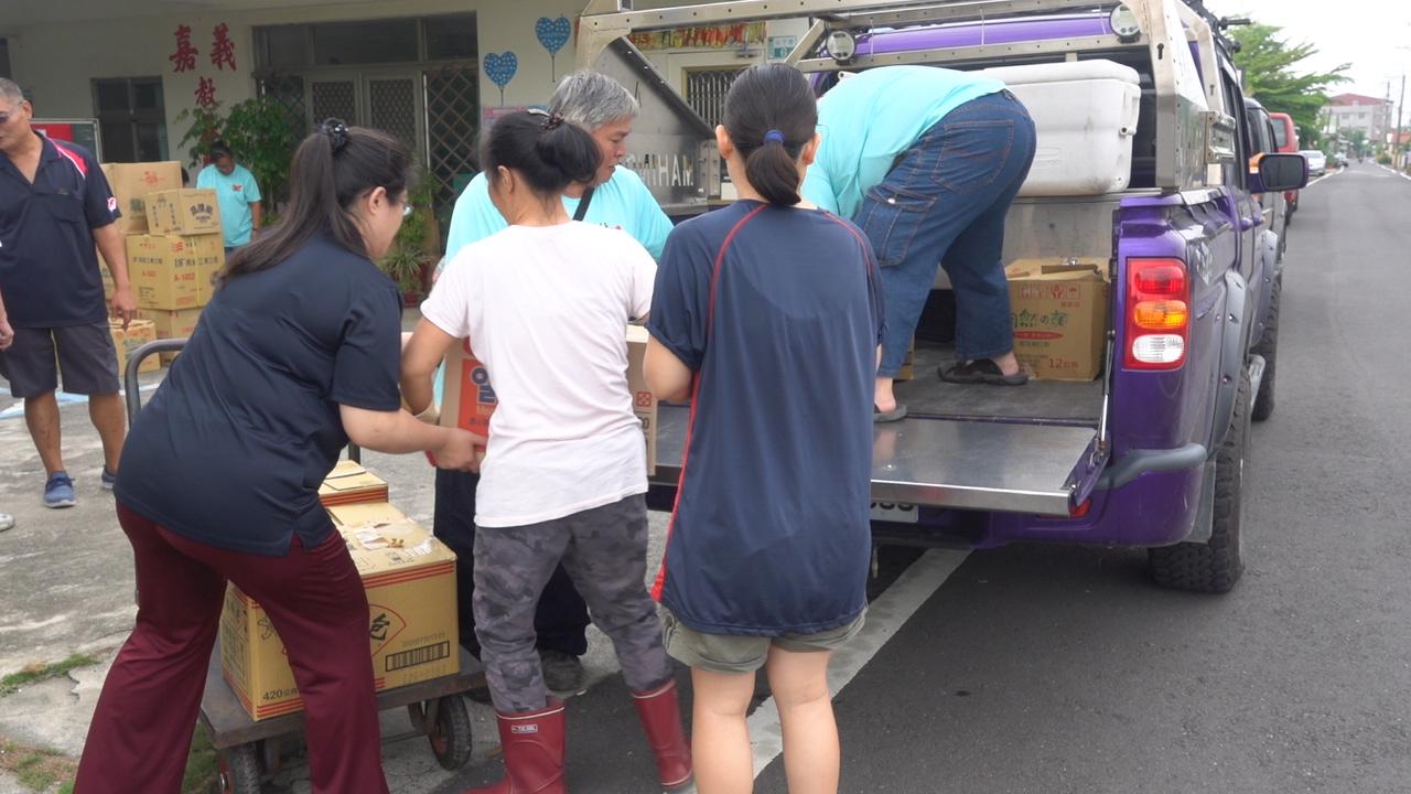 馬亨達台灣-暖心送物資-嘉義教義院
