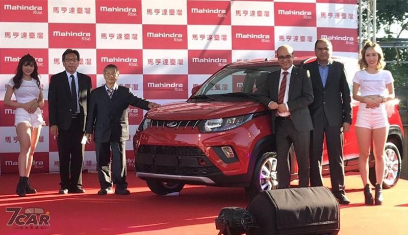 印度入門跨界小車 全新 Mahindra KUV100 限量新台幣 49.8 萬元起正式在台上市